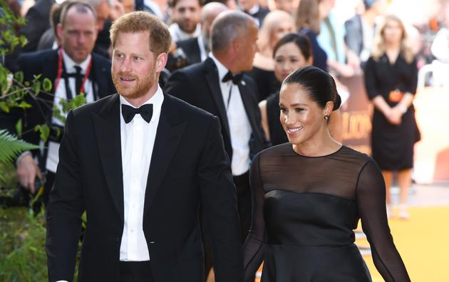 Princ Harry i Meghan Markle