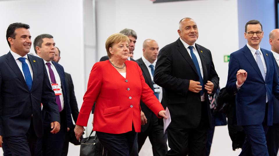 Merkel at Western Balkans summit in Poznan
