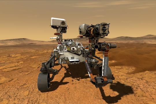 FILE PHOTO: NASA's Perseverance Mars rover is seen in an undated illustration provided by Jet Propulsion Laboratory