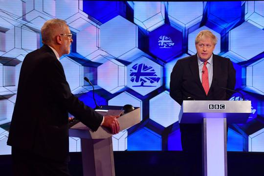 Jeremy Corbyn i Boris Johnson