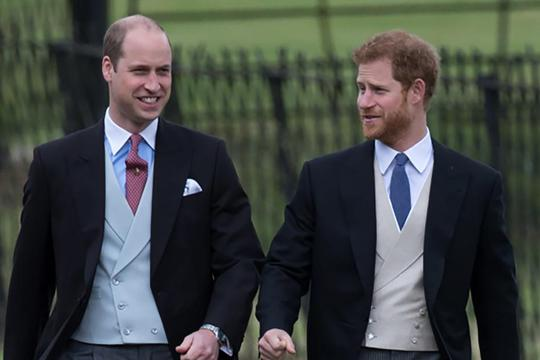 Princ William i princ Harry
