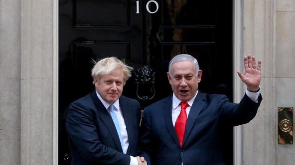 Johnson i Netanyahu