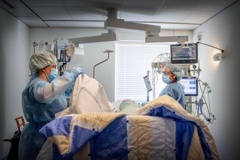 Intensive Care Unit For Covid Patient - Netherlands