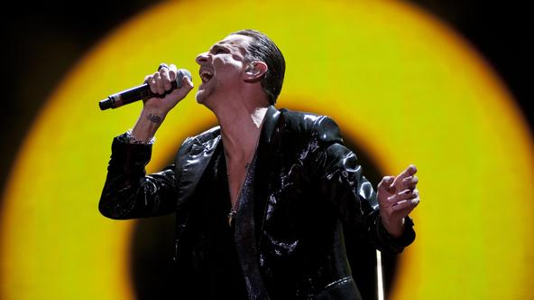 Depeche Mode in concert - Birmingham Dave Gahan of Depeche Mode performing live on stage at the LG Arena - BirminghamKatja Ogrin Photo: Press Association/PIXSELL