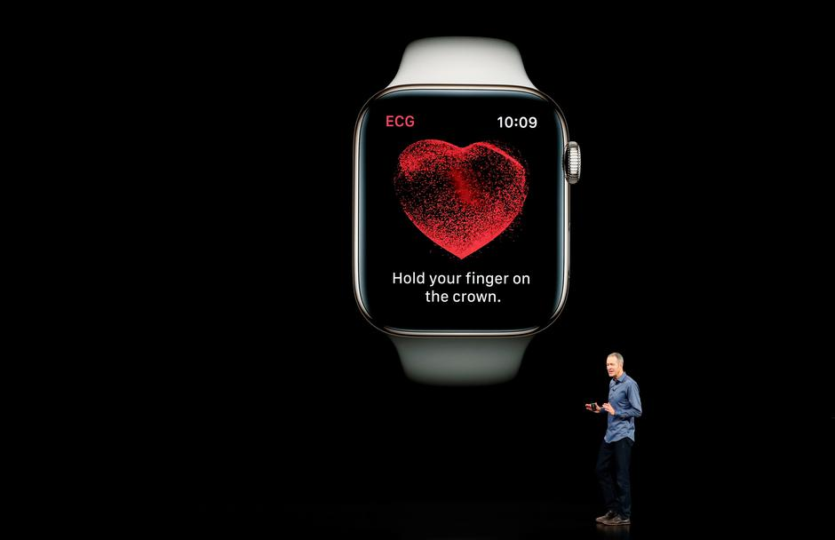 Apple Watch 4 | Autor : Reuters/PIXSELL