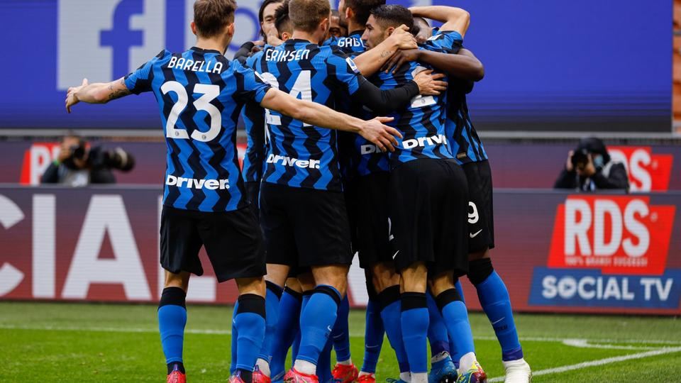 Italian football Serie A match - Inter - FC Internazionale vs US Sassuolo