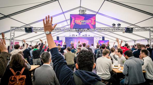 Techfest Munich 2019.