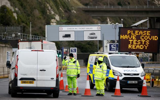 Border control at the Port of Dover