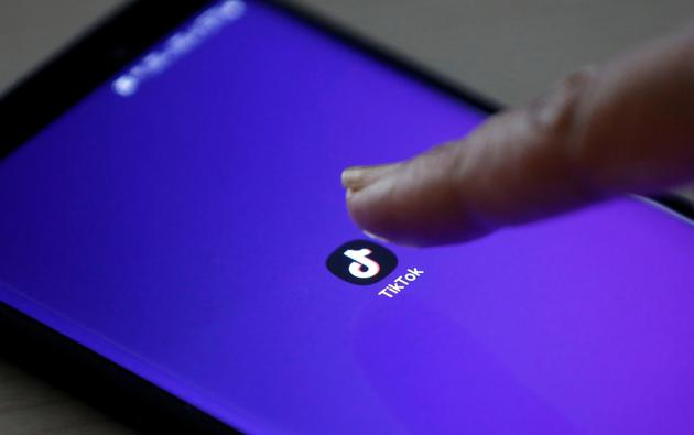 FILE PHOTO: The logo of TikTok application is seen on a mobile phone screen in this picture illustration taken