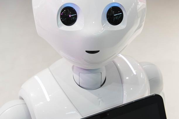 GSMA Mobile World Congress 2017, Grand Fira -  Barcelona Robot Pepper on display at the GSMA Mobile World Congress 2017, Grand Fira, Barcelona. Picture date: Monday 27th February 2017.  David Jensen  Photo: Press Association/PIXSELL