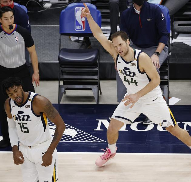 NBA: New Orleans Pelicans at Utah Jazz