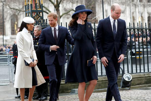 Harry, Meghan, Kate i William