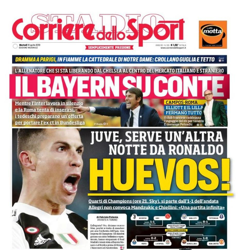 | Autor : corrieredellosport.it