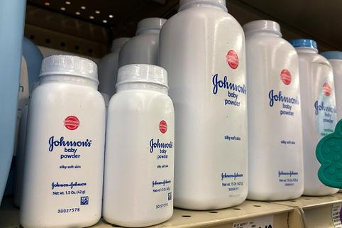 Johnson&Johnson puder