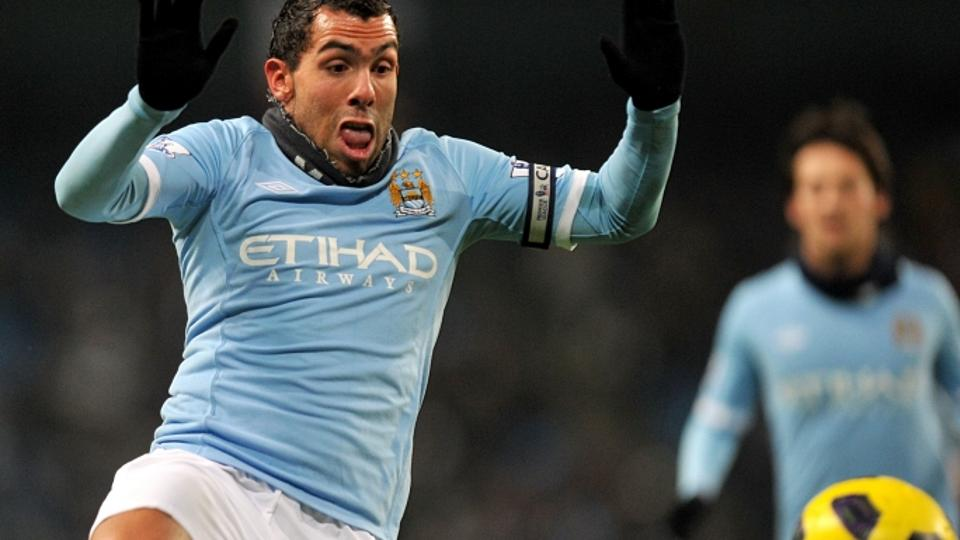 \'Carlos Tevez, Manchester City. Photo: Press Association/Pixsell\'