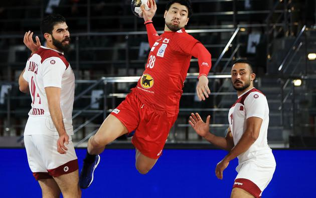 2021 IHF Handball World Championship - Preliminary Round Group C - Qatar v Japan
