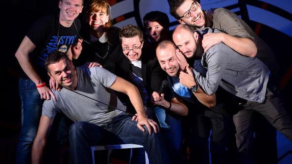 24.9.2015., Zagreb -  Stand up komicari u Studiju Smijeha.  Photo: Marko Prpic/PIXSELL