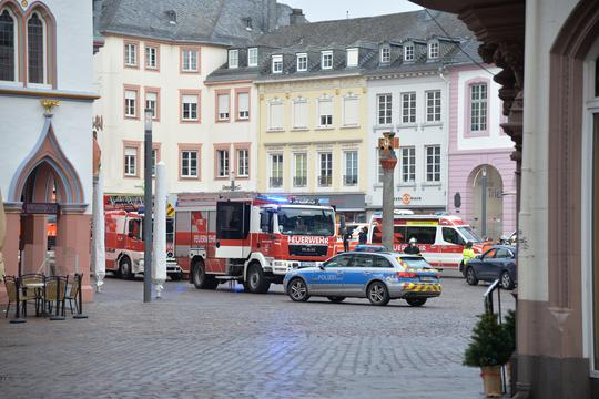 Car detects pedestrians in Trier