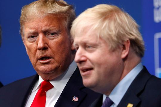 Boris Johnson i Donald Trump