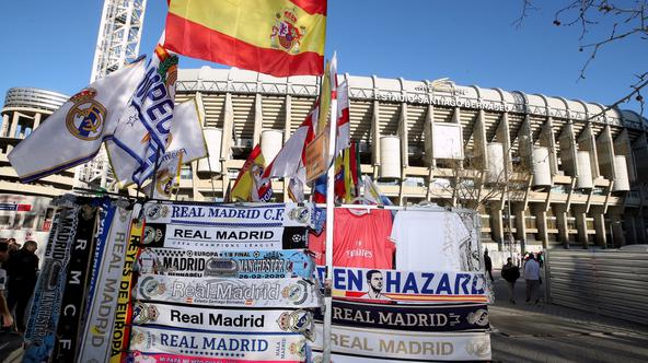 Real Madrid v Manchester City - UEFA Champions League - Round of 16 - First Leg - Santiago Bernabeu