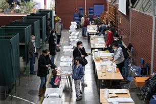 CHILE-SANTIAGO-CONSTITUTION MAKERS ELECTION