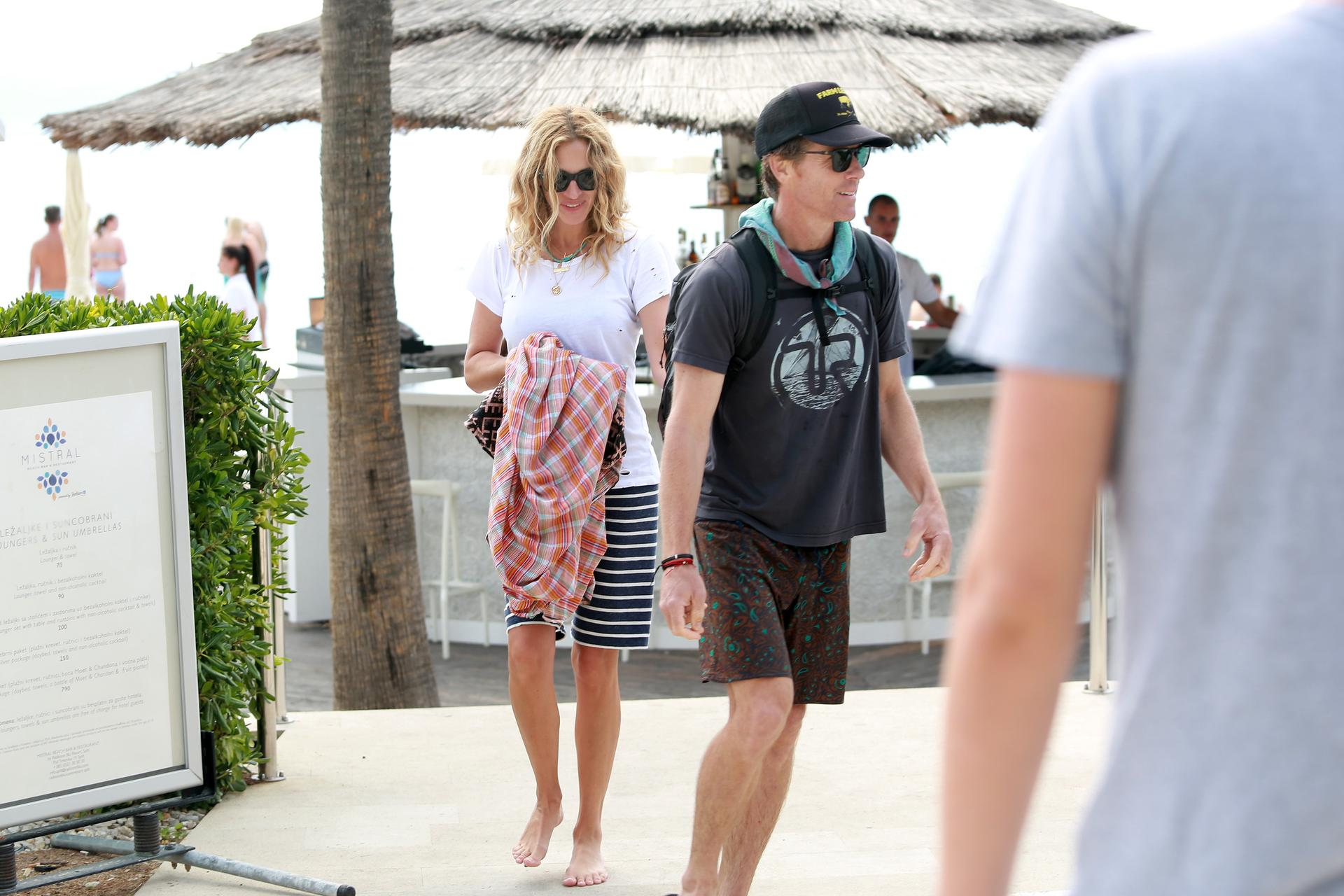 Julia Roberts in Split - Croatia