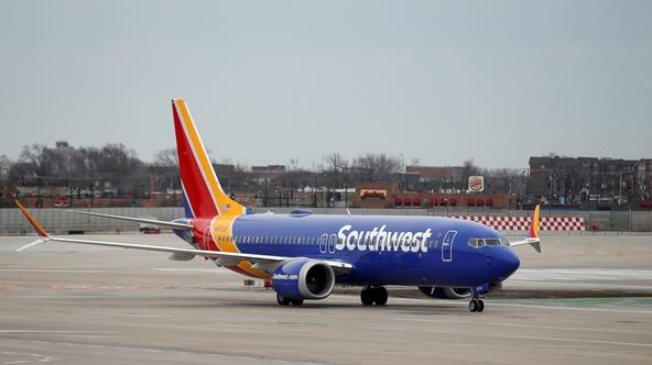 Southwest Airlines Co. Boeing 737 MAX 8
