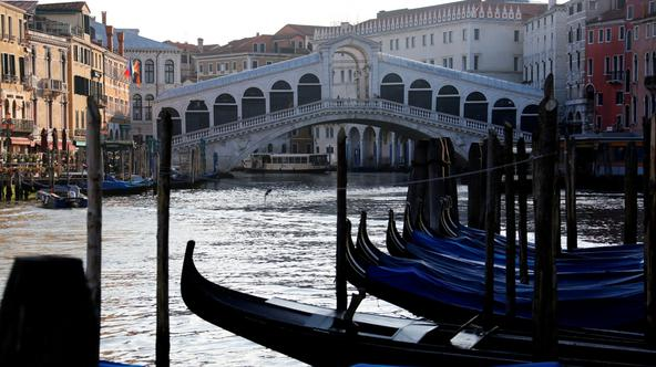 FILE PHOTO: Outbreak of the coronavirus disease (COVID-19) in Venice