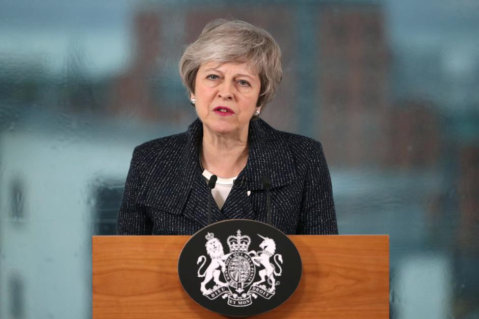 Theresa May u Belfastu | Autor : Reuters/PIXSELL