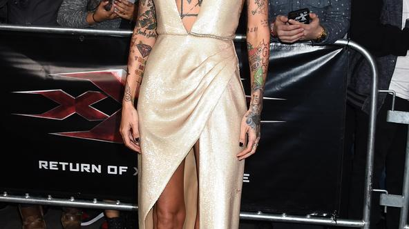 xXx: Return of Xander Cage Premiere - Los Angeles Ruby Rose arriving for the