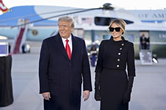 President Trump At Joint Base Andrews - Maryland