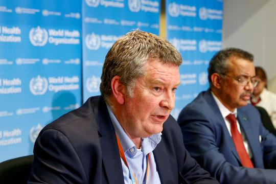 FILE PHOTO: News conference on the novel coronavirus in Geneva