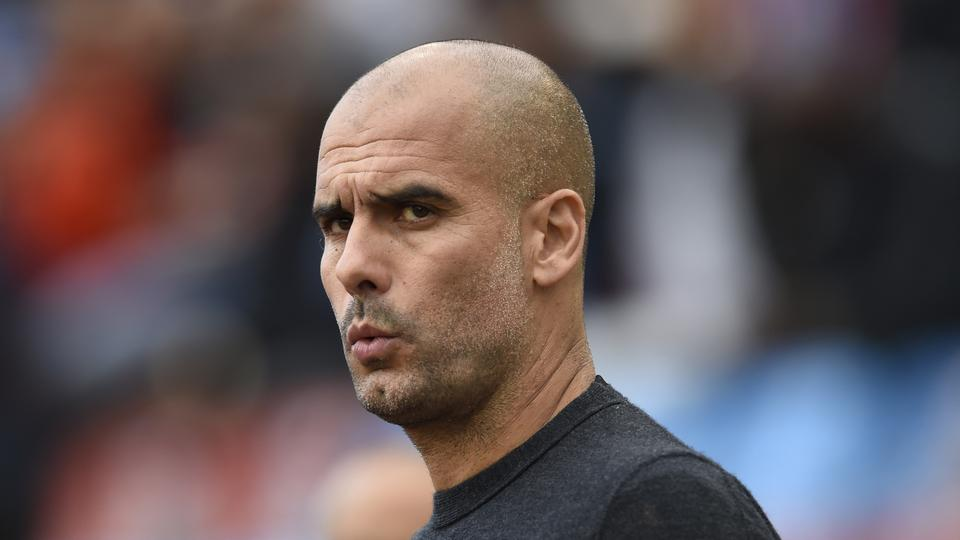 Football Soccer Britain - Arsenal v Manchester City - Pre Season Friendly - Ullevi Stadium, Gothenburg, Sweden - 7/8/16 Manchester City manager Pep Guardiola before the game Action Images via Reuters / Adam Holt Livepic EDITORIAL USE ONLY.