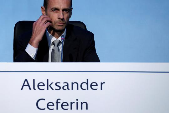 Newly elected UEFA President Aleksander Ceferin listens to a question during a news conference following his election in Athens, Greece September 14, 2016. REUTERS/Alkis Konstantinidis
