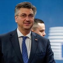 FILE PHOTO: Croatia's Prime Minister Andrej Plenkovic arrives for the a special European council on budget in Brussels, Belgium February 20,