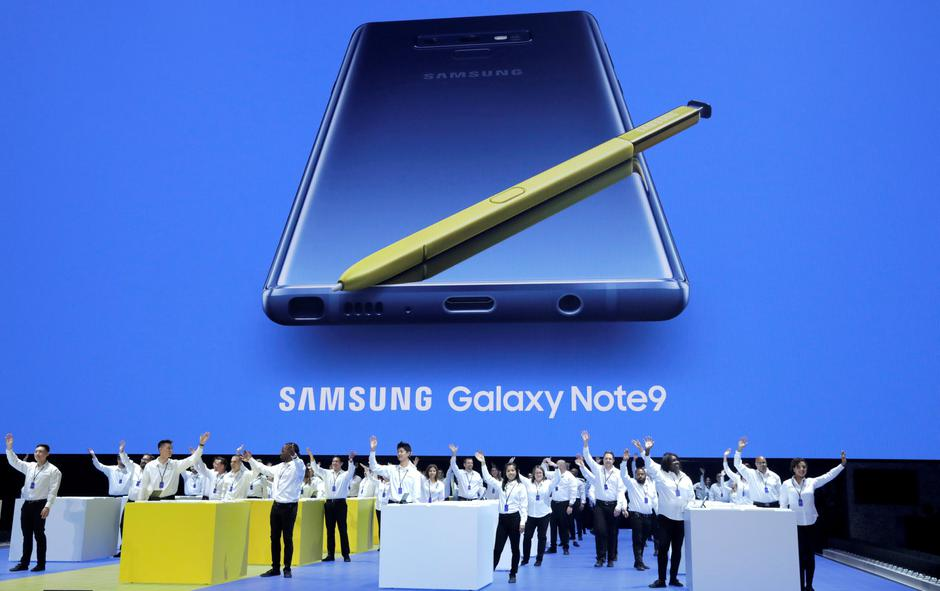 Samsung Galaxy Note 9 | Autor : Pixsell/Reuters
