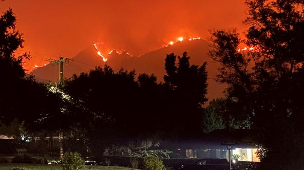 Bobcat fire approaches Sierra Madre and Arcadia communities in California