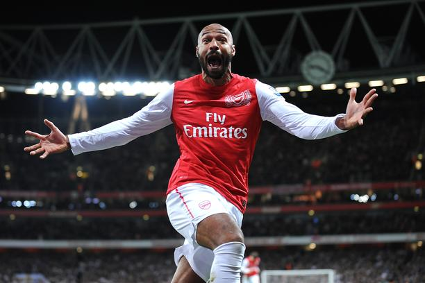 Arsenal's Thierry Henry celebrates scoring the opening goal of the game  Photo: Press Association/PIXSELL