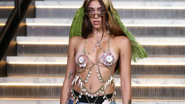 Lourdes Ciccone Leon na Fashion Weeku