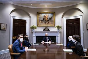 President Biden Receives an Economic Briefing at the White House