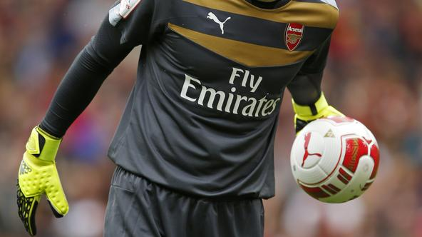 Football - Arsenal v VfL Wolfsburg - Emirates Cup - Pre Season Friendly Tournament - Emirates Stadium - 26/7/15 Arsenal's Petr Cech Action Images via Reuters / John Sibley Livepic EDITORIAL USE ONLY.