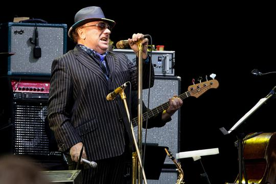 Van Morrison performing live at Tradgardsforeningen in Gothenburg