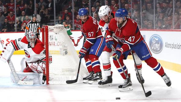 Carolina Hurricanes - Montreal Canadiens