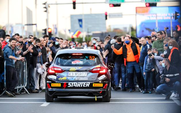 Zagreb: Ceremonijalni start WRC Croatia Rally 2021.
