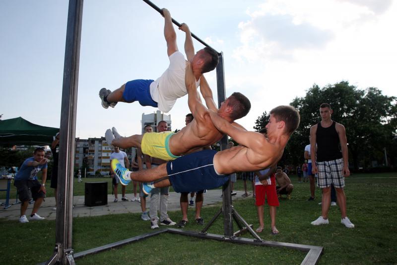 Street workout 1170991