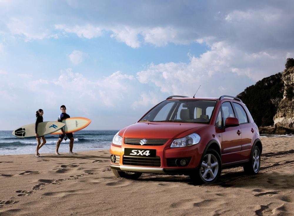 Suzuki SX4 рестайлинговая ве…
